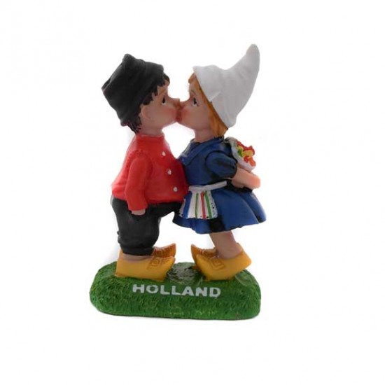 KISSING COUPLE COLOR POLYSTONE 7 CM