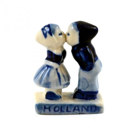 KISSING COUPLE DELFT BLUE MINI 4 CM