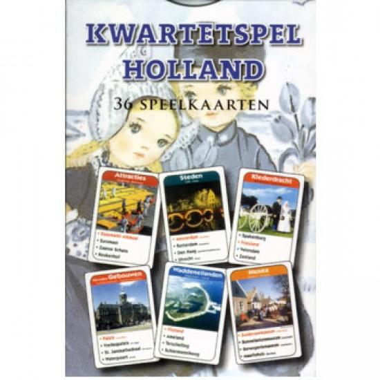 Kwartetspiel holland 36 kaarten