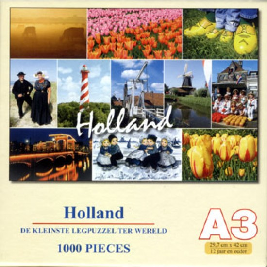 JIG SAW PUZZLE HOLLAND 1000 pcs A3