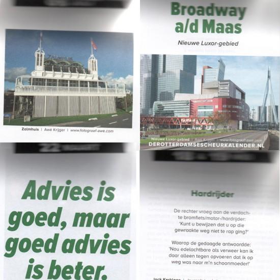 Rotterdamse scheurkalender 2019