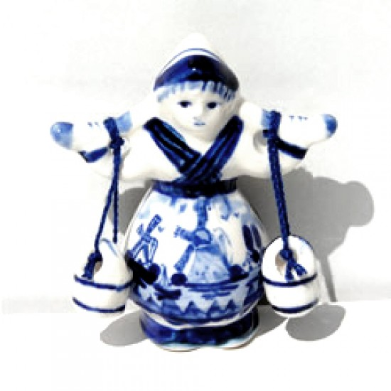 MAGNET FARMERS WIFE DELFT BLUE