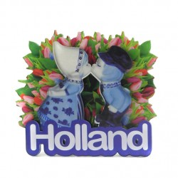 MAGNET HOLLAND 2D KISSING COUPLE