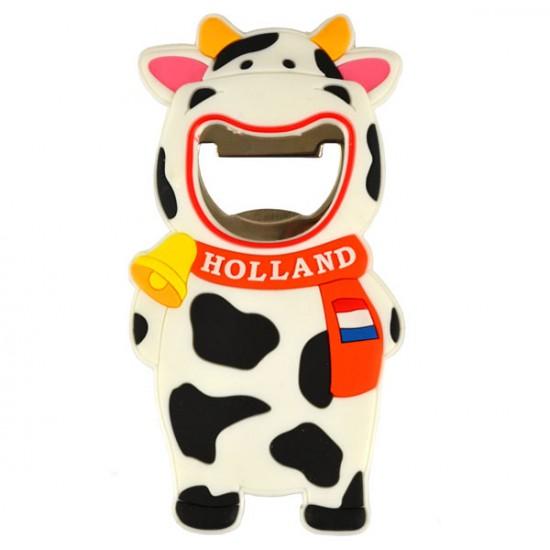 MAGNET OPENER HAPPY COW PVC
