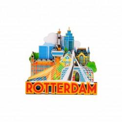 MAGNET ROTTERDAM SKYLINE 2 ERASMUSRIDGE FRONT