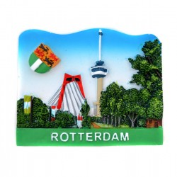 FRIDGE MAGNET WILLIAM BRIDGE EUROMAST ROTTERDAM