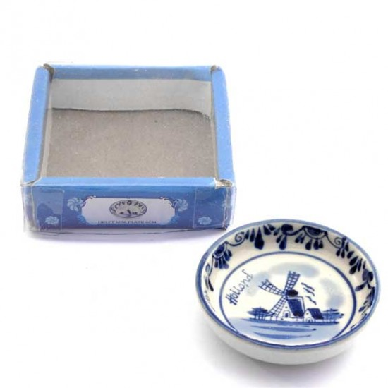 MINI DISH DELFT BLEU HOLLAND 6 CM CERAMICS