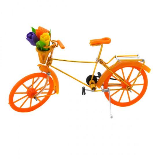 MINIATURE BICYCLE TULIPS ORANGE