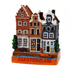 MINIATURE AMSTERDAM CANAL HOUSES