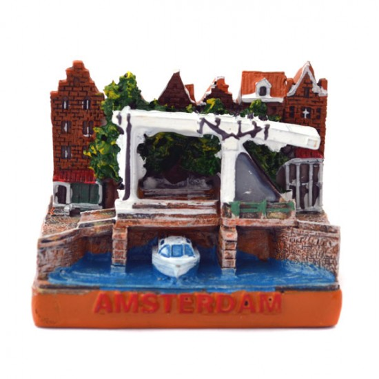 MINIATURE DRAWBRIDGE AMSTERDAM CANALS