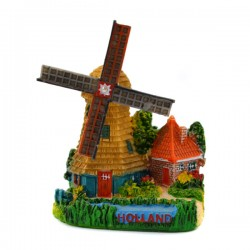 MINIATURE POLDER WINDMILL HOLLAND