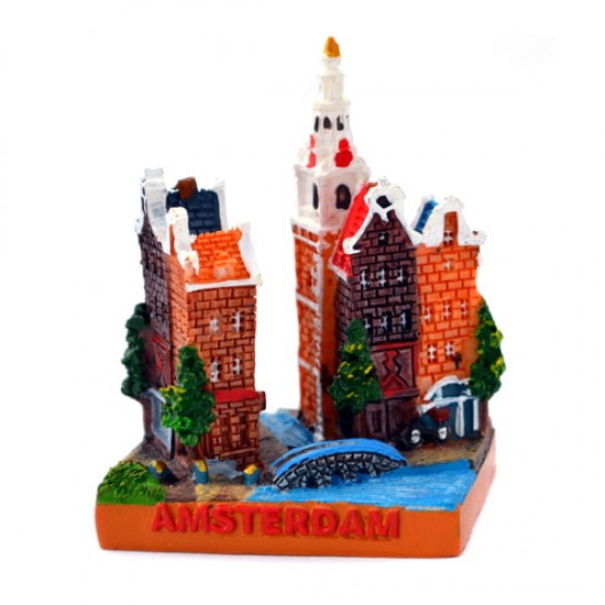 MINIATURE AMSTERDAM CITY SCENE