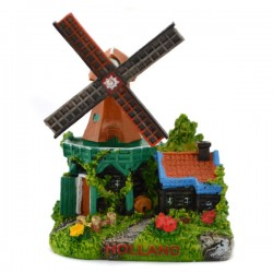 MINIATURE DUTCH STELLING WINDMILL
