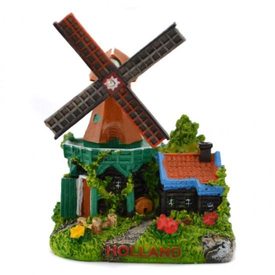 Miniatur gerüst windmühle holland