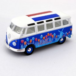MINIATURE VOLKSWAGEN VAN HOLLAND BLUE