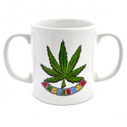 MUG AMSTERDAM CANNABIS DOUBLE EAR