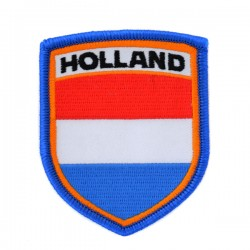 EMBROIDERED PATCH HOLLAND FLAG