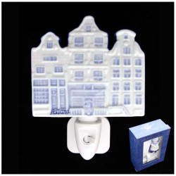 DELFT BLUE NIGHT / WALL LIGHT HOUSES