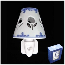 DELFT BLUE NIGHT / WALL LIGHT TULIPS