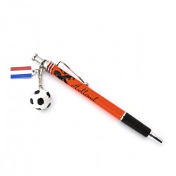 ORANGE PEN HOLLAND LION FOOTBALL FLAG