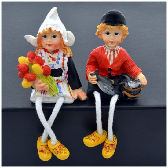 COUPLE ROPE LEGS COSTUME HERRING TULIPS