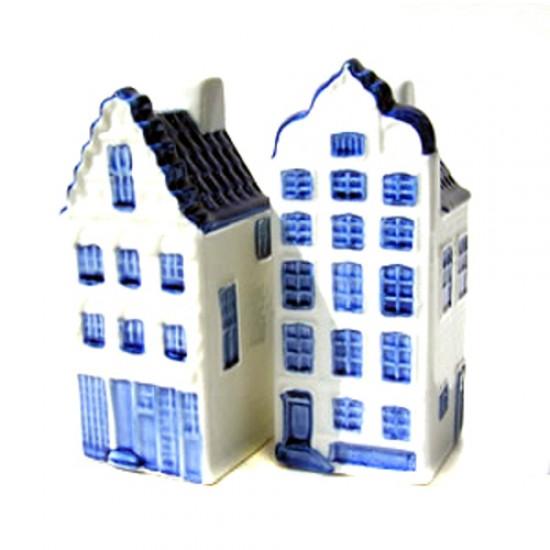 PEPPER AND SALT SET-DELFT BLUE CANAL HOUSE
