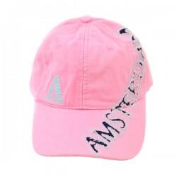 BASEBALL CAP PINK AMSTERDAM ROBIN RUTH