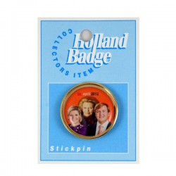 STICK PIN 30 APRIL 2013 BEATRIX WILLEM ALEXANDER MAXIMA