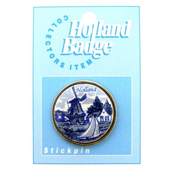 Stickpin / brooch holland delft blue