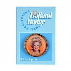 STICK PIN THRONE CHANGE 1980 - 2013 QUEEN BEATRIX