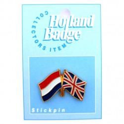 STICKPIN / BROOCH FLAG NETHERLANDS - UK