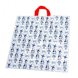 SOUVENIR CARRIER BAG DELFT BLUE
