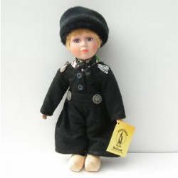 PORCELAIN DOLL BOY BLACK COSTUME