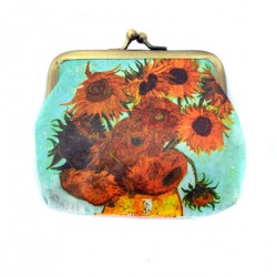 WALLET VAN GOGH SUNFLOWERS ROBIN RUTH CLAIRE