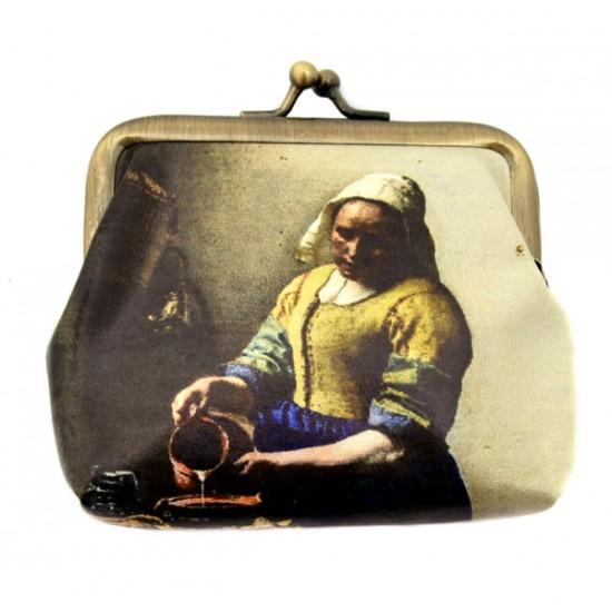 Wallet vermeer milkmaid robin ruth claire