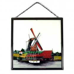 WINDOW GLASS PENDANT WINDMILL BARN