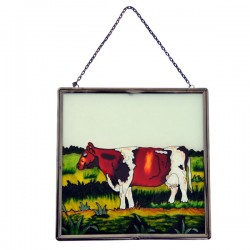 WINDOW DECORATION ROAN COW