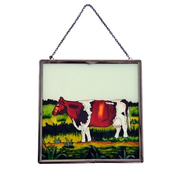 WINDOW DECORATION ROAN COW