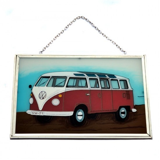 WINDOW DECORATION VOLKSWAGEN VAN T1