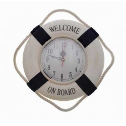 LIFEBUOY WITH CLOCK 25 CM