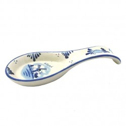 DELFT BLUE SPOON RESTAURANT WINDMILL HOLLAND 22 CM