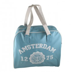 RETRO BIG BAG UNIVERSITY AMSTERDAM BLUE