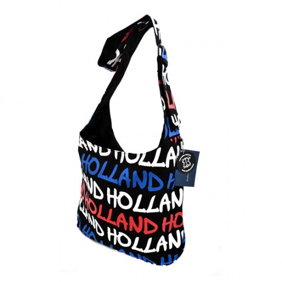 SHOULDER BAG LOUISE L HOLLAND RED WHITE BLUE ROBIN RUTH