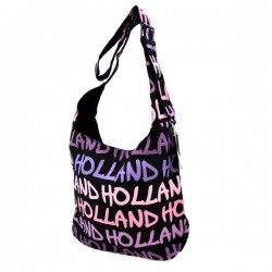 SHOULDER BAG LOUISE_L HOLLAND BLACK PURPLE ROBIN RUTH