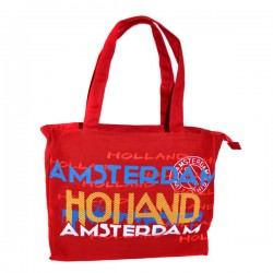 SHOPPER SKYLINE RED AMSTERDAM HOLLAND