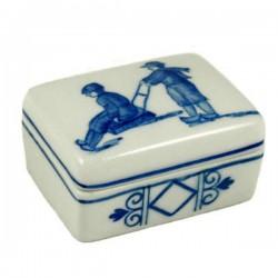 JEWELRY BOX DELFT BLUE SLEIGH