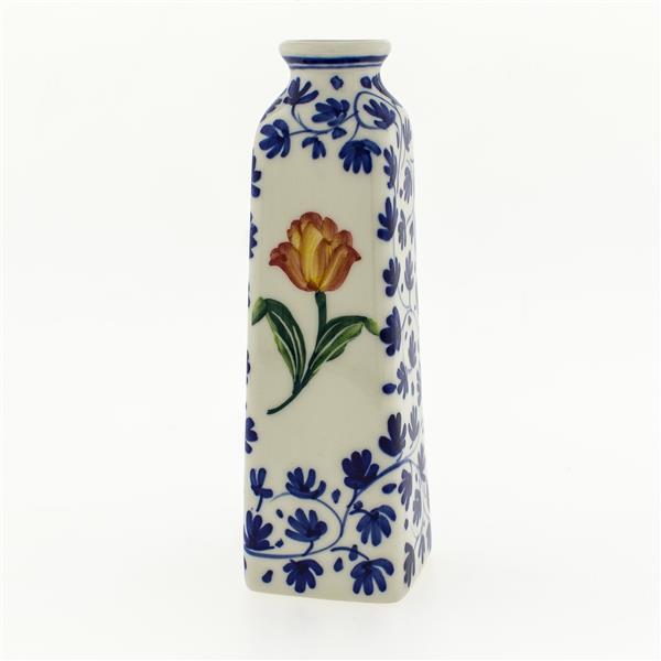 Small Tulip Vase Orange Tulip Delft Blue Vases And Pottery