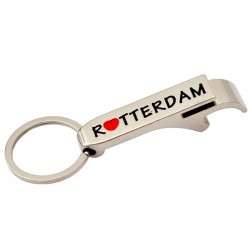 KEYCHAIN BOTTLE OPENER LOVE ROTTERDAM