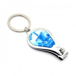 KEYCHAIN NAIL CLIPPER DELFT BLUE HOLLAND