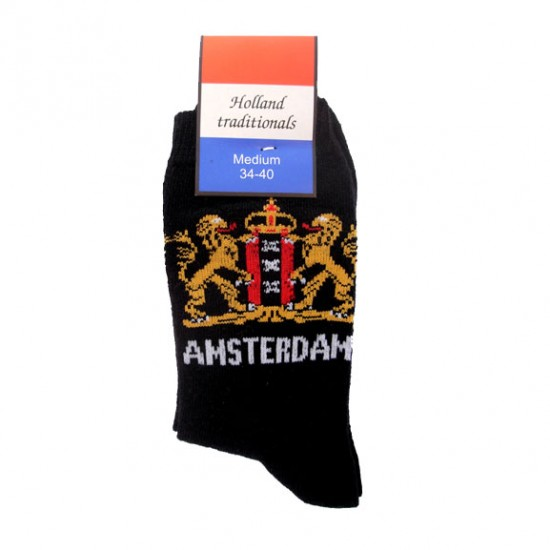 SOCKS AMSTERDAM BLACK